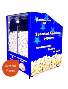 İkili Popcorn Sunum Tezgahı...