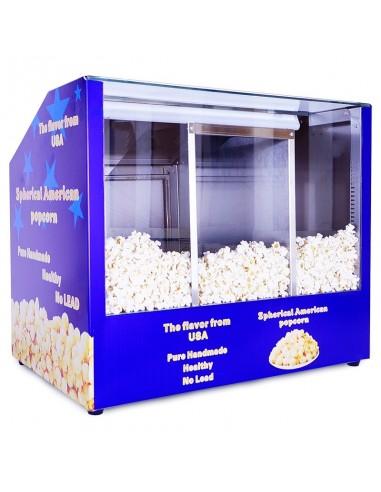 Triple Popcorn Presentation Bench 1007