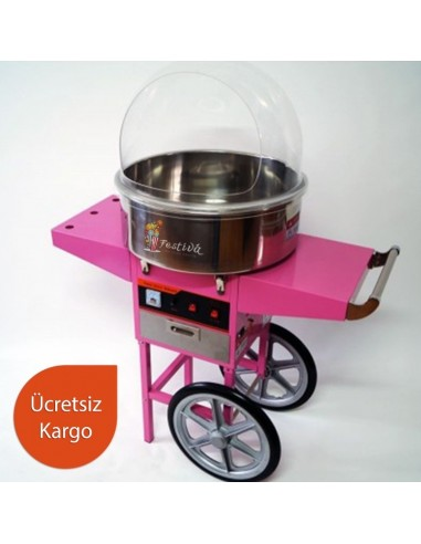 Wheeled Cotton Candy Machine 2051 +...