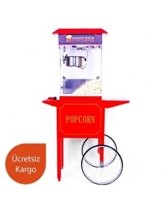 Wheeled Popcorn Machine 1032