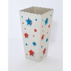 Yıldızlı Popcorn Kutusu...