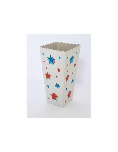 Yıldızlı Popcorn Kutusu Büyük 100...