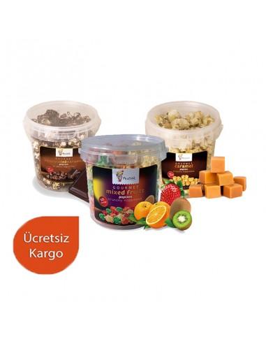 8 Pieces Mix Popcorn Set 130 Gr. -...