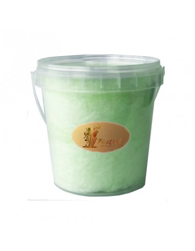 Kiwi Cotton Candy in Plastic Cup 2731K