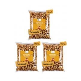 3 Pieces Caramel Popcorn...