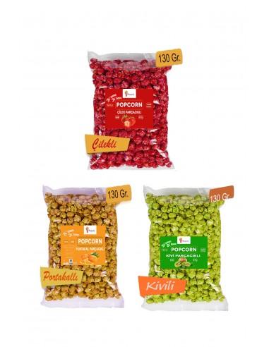 3 Pieces Mixed Fruity Popcorn Set 130...