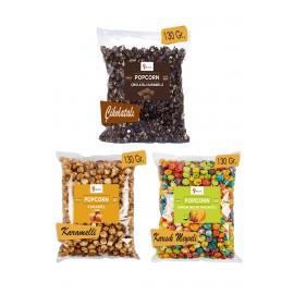 3 Pieces Mix Popcorn Set...